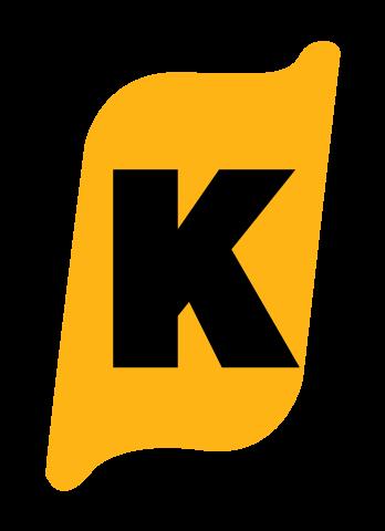 Klean-Rite Logo Icon Yellow K