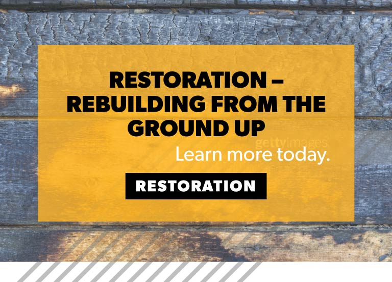 Restore and Rebuild From a Disaster