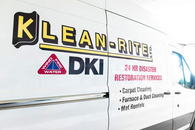 Furnace and Duct Cleaning Van